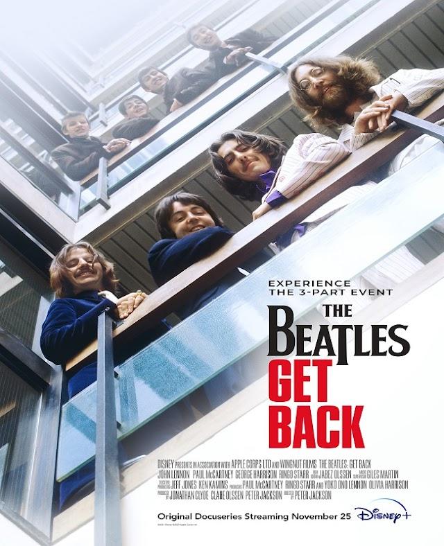 THE BEATLES | Minissérie documental de Peter Jackson ganha trailer e cartaz