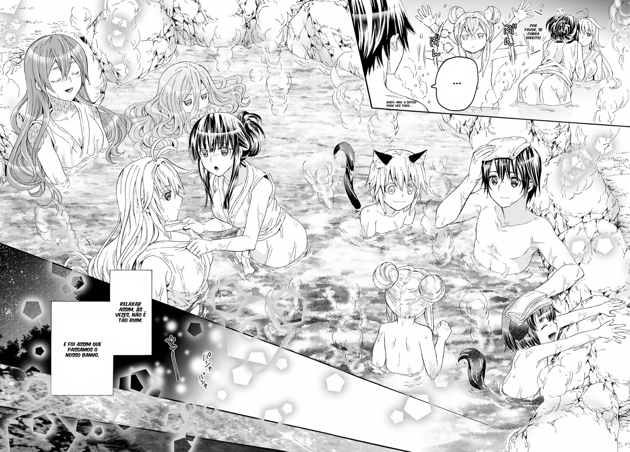 Death March Kara Hajimaru Isekai Kyousoukyoku / Death March To The Parallel World Rhapsody Mangá Online Capítulo 77