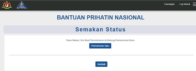 Tarikh Bayaran Bantuan Prihatin Nasional BPN Covid-19