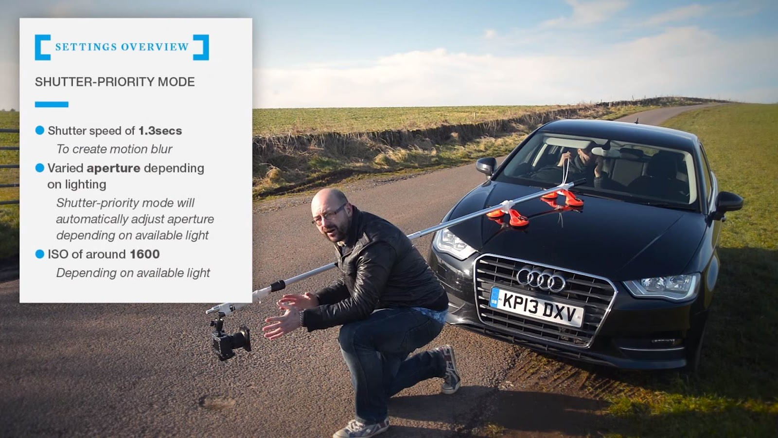 How to create a DIY car rig for £30