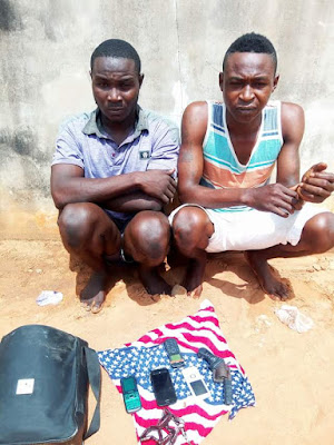 Photos: Suspected cultists, robbers arrested in Benue State