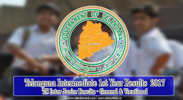 TS Intermediate 1st Year Junior Results 2017