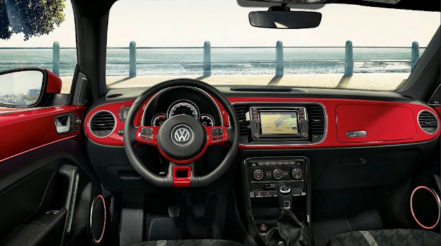 Volkswagen Beetle 2017 - Opción 1 de 3 para la tapicería interna