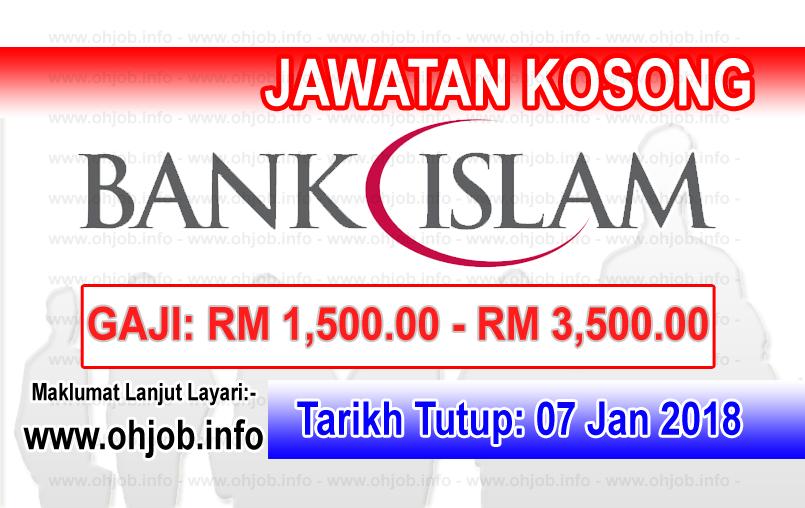 Jawatan Kerja Kosong Bank Islam Malaysia logo www.ohjob.info januari 2018