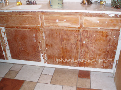 can you paint bathroom cabinets lipstick and laundry march 2012 13216