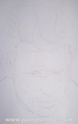 Boceto James Dean