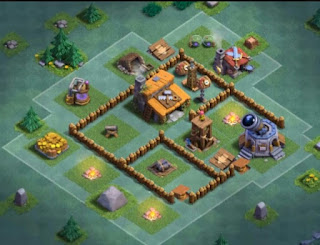 7 Base Aula Tukang Level 3 COC Mode Malam Terbaik