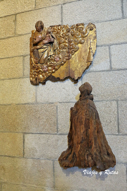 Lactación de S. Bernardo, Xunqueira de Espadanedo