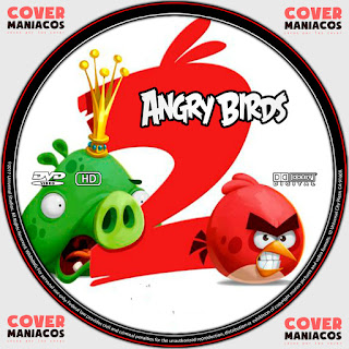 GALLETA LABEL ANGRY BIRDS 2 [COVER DVD]
