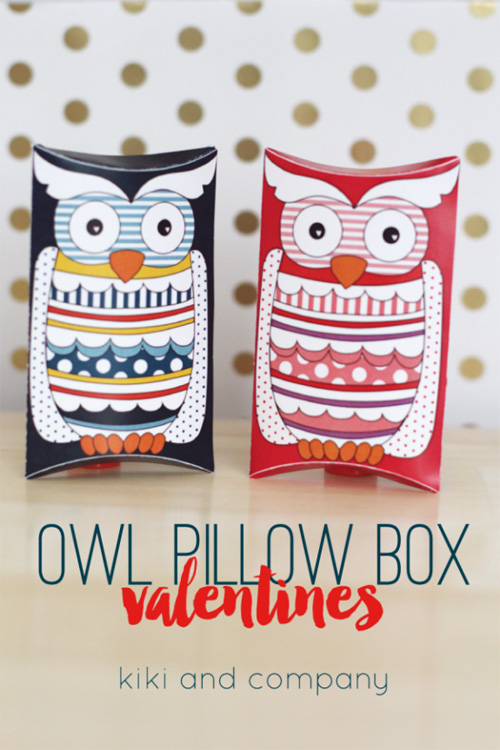 My owl barn for Owl pillow box template