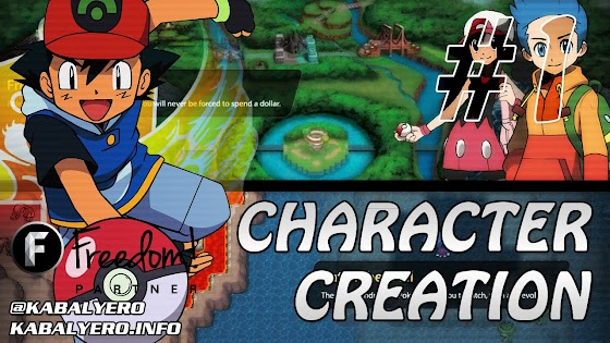 Pokemon Planet Gameplay #1 ★ Character Creation ★ Created My Pokemon Trainer