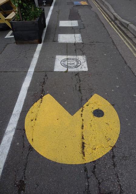 Pac-Man at Southampton Inside/Out