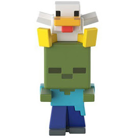 Minecraft Series 19 Chicken Jockey Mini Figure