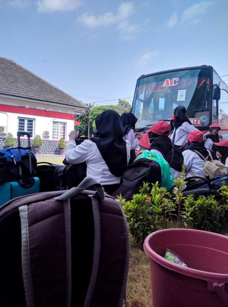Suasana setibanya di PPSDM Kemendagri Regional Yogyakarta