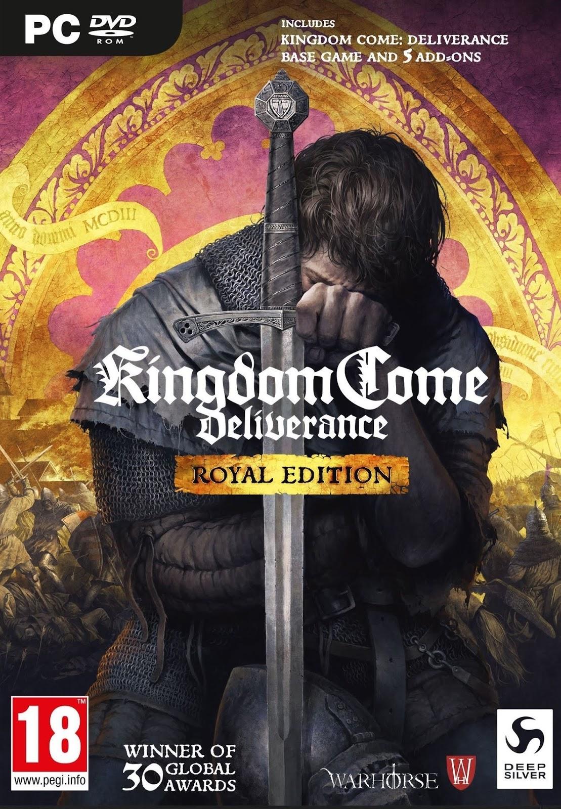 Descargar Kingdom Come Deliverance PC Cover Caratula
