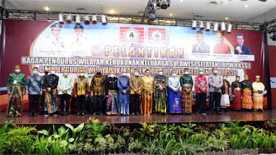 Senator Hasan Basri Hadiri Pelantikan BPW KKSS dan PW IPSS Kalimantan Utara 2021-2026