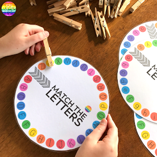 FREE Letter Wheels | you clever monkey
