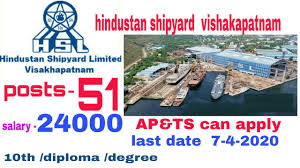 Hindustan Shipyard Limited Recruitment for Various Posts Apply Online @hslvizag.in /2020/03/Hindustan-Shipyard-Limited-Recruitment-for-Various-Posts-Apply-Online-hslvizag.in.html