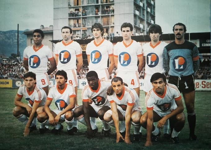 STADE BRESTOIS 1983-84. By Panini.