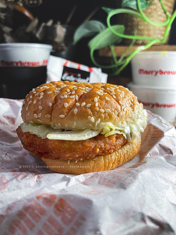 MB Chicken Burger-Single