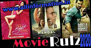 MovieRulz 2020 - Download Tamil Telugu Bollywood Hollywood and Hindi Dubbed Movies