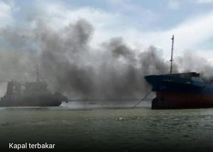 KM Darma Kencana II yang Terbakar di Karimun Jawa