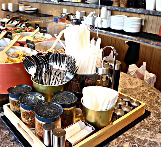 healthy food at Fedwell Citywalk Jakarta Review