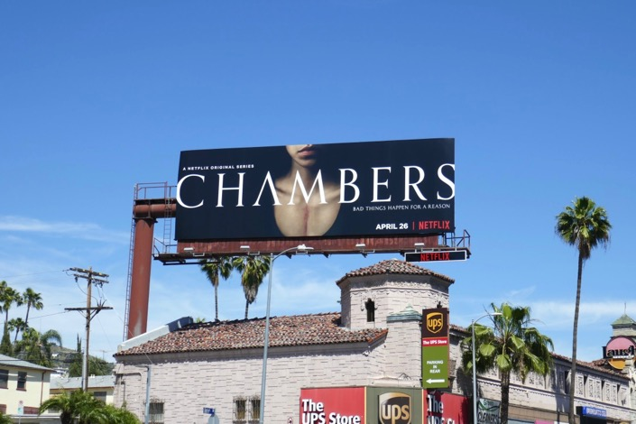 Chambers series launch billboard