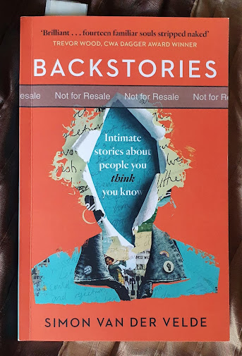 Backstories fiction biography by Simon Van Der velde