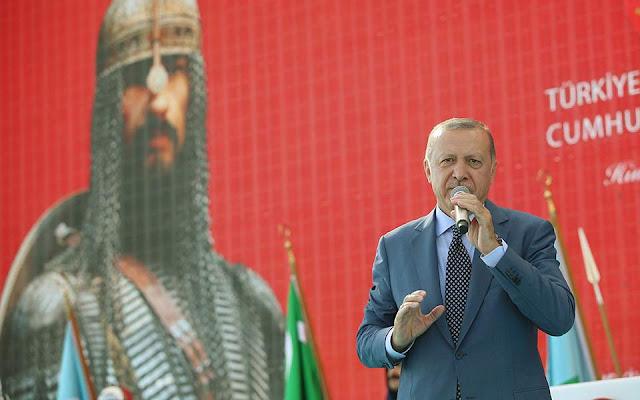 Νέο-οθωμανικά παλάτια στην άμμο