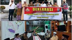 Kapolres Silaturahmi Dengan Tokoh Agama dan Ulama Deklarasikan Pilkada Aman Damai dan Sejuk