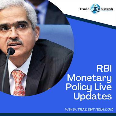 RBI Monetary Policy Live Updates 2020 | Trade Nivesh