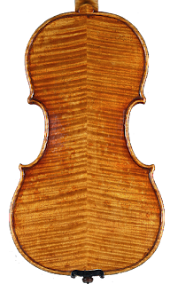 Copy of a Guarneri Del Gesù Violin Backplate by Nicolas Bonet Luthier - Fond d'un violon en copie de Guarneri del Gesù