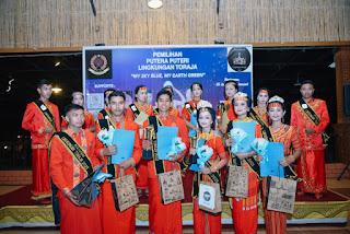 Sukses Digelar, ini Putra-Putri Lingkungan Toraja 2021