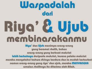 https://abusigli.blogspot.com/2018/04/bahaya-riya-dan-ujub.html