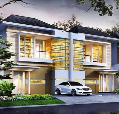 Gambar Desain Rumah Minimalis 2 Lantai Terbaru Desain Rumah