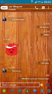 BBM MOD Wood versi 2.12.0.11 Apk