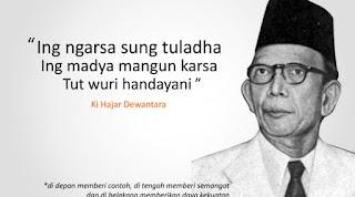 slogan Puisi Ki Hajar Dewantara