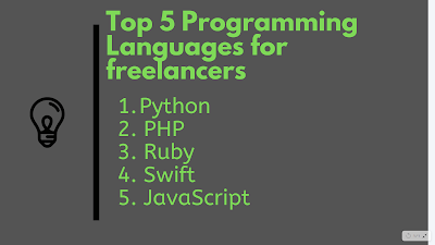 5 Best Programming Languages for Freelancers and startups