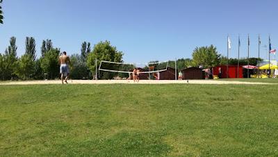 Campo de Jogos de Vólei de praia