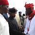 Vice President Yemi Osinbajo Visits Niger Delta Region For Negotiations - Photos