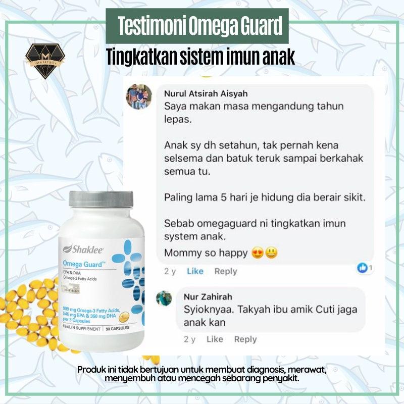 omega guard untuk sistem imun anak