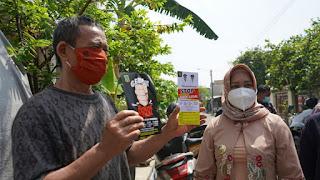 Stop Cukai Illegal, Ning Ita Blusukan Sidak Rokok Tanpa Pita Cukai