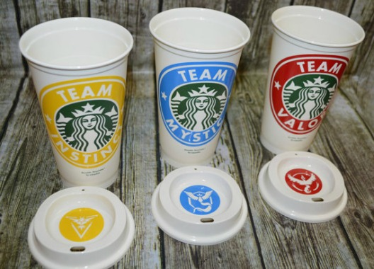 Pokemon Starbucks