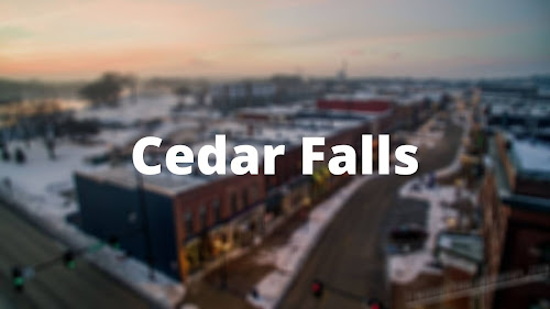 Iowa best place Cedar Falls