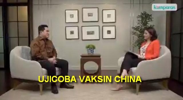 Ujicoba Vaksin China: Harusnya Ente Dulu Kasih Contoh Rick !!!