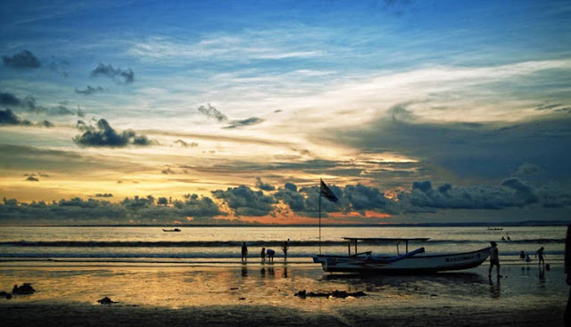 wisata pantai pangandaran - harga tiket masuk pantai pangandaran