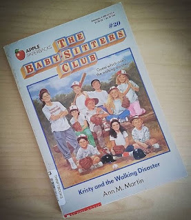 kristy and the walking disaster the babysitters club #20 ann m martin