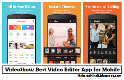 VideoShow Video Editor App for Mobile