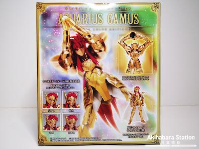 Saint Cloth Myth EX Aquarius Camus OCE - Tamashii Nation 2019 Exclusive -  de Saint Seiya - Tamashii Nations